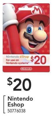 Nintendo Eshop image