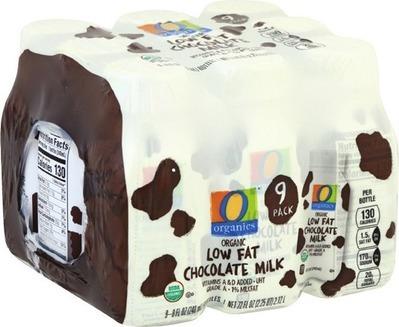 O Organics Milk image
