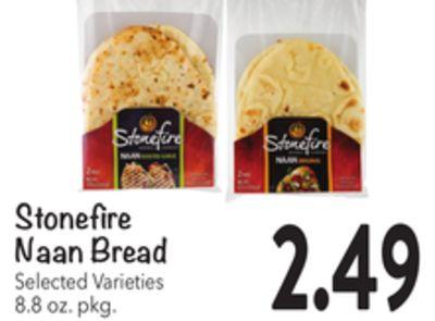 Stonefire Naan Bread image