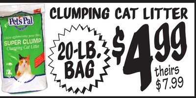 CLUMPING CAT LITTER image