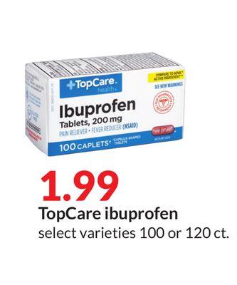 TopCare ibuprofen image