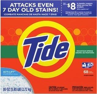 tide laundry detergent image