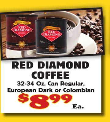 RED DIAMOND COFFEE image