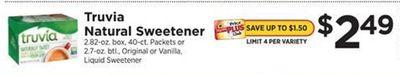 Truvia Natural Sweetener image