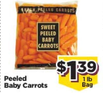 Peeled Baby Carrots image