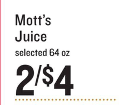 Mott's Juice image