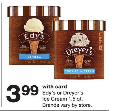 Edy's or Dreyer's Ice Cream image